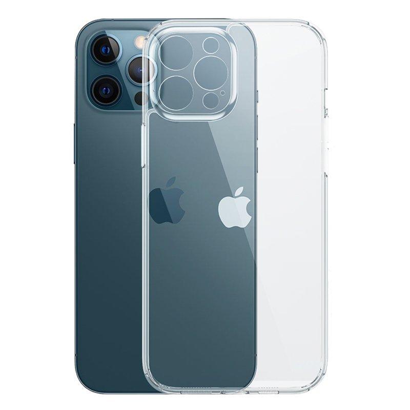 Joyroom Crystal Series trpežna torbica za telefon za iPhone 12 Pro Max prozorna