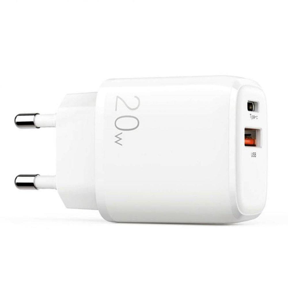 Joyroom hitri stenski polnilnik USB Type C / USB 20 W 3 A Power Delivery Quick Charge 3.0 white