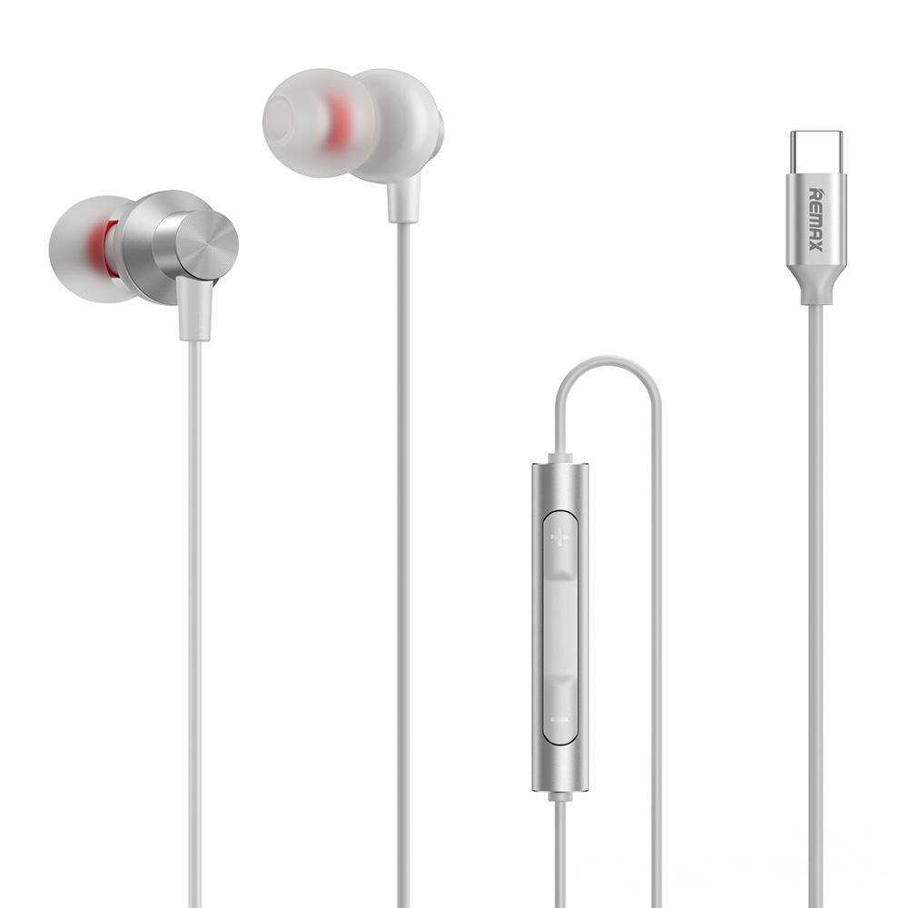 Remax Kovinske žične slušalke za Type-C RM-560