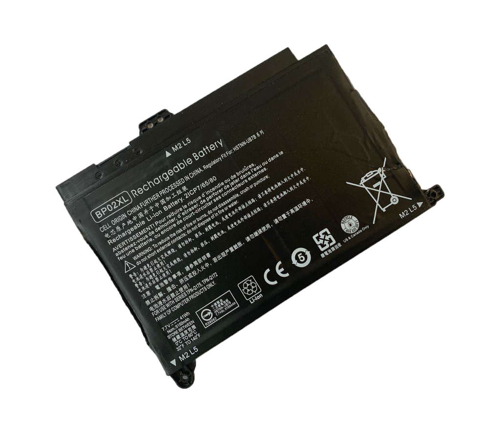 Baterija za prenosni računalnik NRG+ BP02XL za HP Pavilion 15-AU 15-AU051NW 15-AU071NW 15-AU102NW 15-AU107NW 15-AW 15-AW010NW