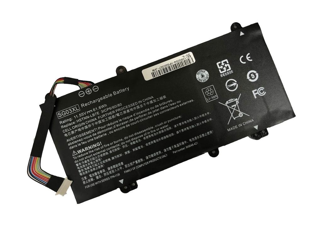 NRG+ baterija za prenosnik HP Envy SG03XL