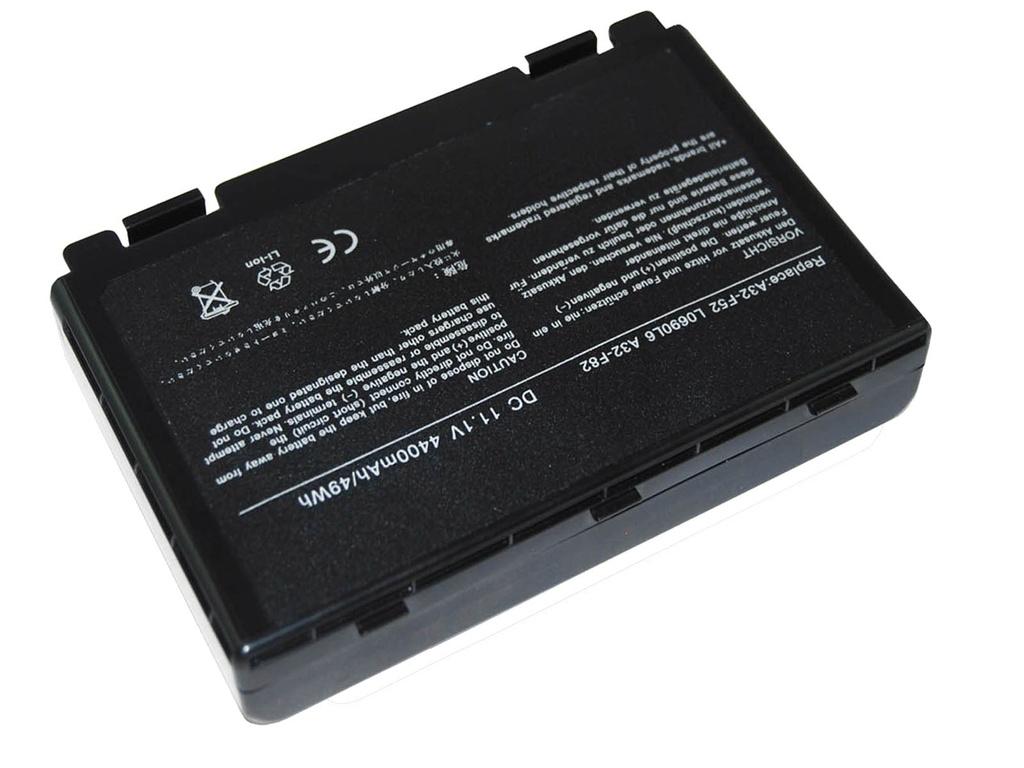 Baterija NRG+ za Asus F52 F82 K40 K50 K70 A32-F52
