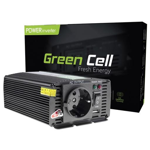 [GCL.INV01DE] Napetostni pretvornik Green Cell ® 12V do 230V, 300W / 600W