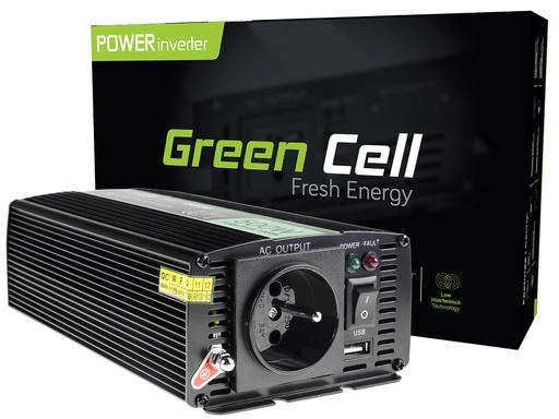[GCL.INV04DE] Napetostni avtomobilski pretvornik Green Cell ® 24V do 230V, 500W / 1000W