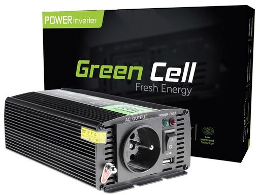 [GCL.INV05DE] Napetostni avtomobilski pretvornik Green Cell ® 12V do 230V, 300W