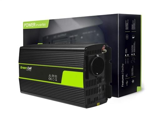 [GCL.INV23] Pretvornik Green Cell® 24V do 230V Modificirani sinus 1000W