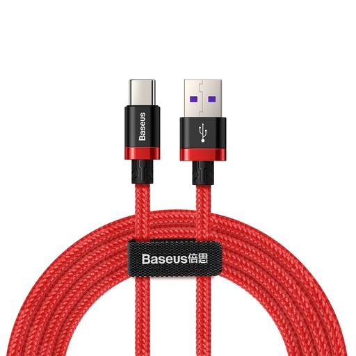 Baseus Purple Gold Type C podatkovni kabel SuperCharge 40W Quick Charge 3.0 2M