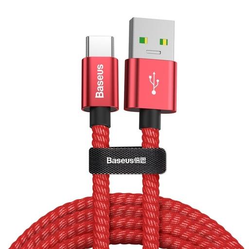 Baseus durable podatkovni kabel USB / USB Tip C QC3.0 5A 1m