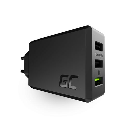 [GCL.CHARGC03] 3-vratni polnilnik GC ChargeSource3 3xUSB 30W s hitrim polnjenjem Ultra Charge i Smart Charge