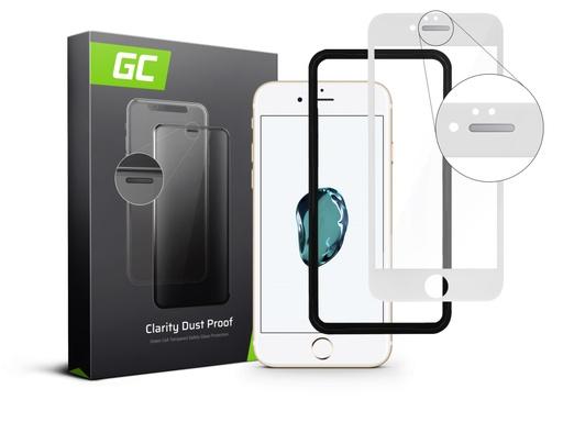 [GCL.GL05DP] Zaščita zaslona GC Clarity za zaščito pred prahom za Apple iPhone 7/8 / SE 2020 / SE 2 - bela