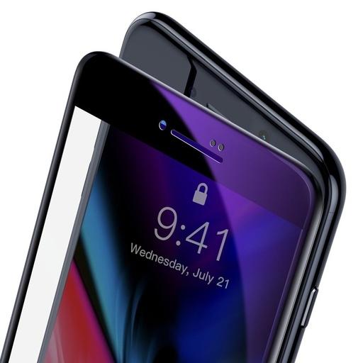 [HRT.55059] Zaščitno steklo Baseus z ukrivljenim zaslonom 0,23 mm za iPhone 8 Plus / iPhone 7 Plus