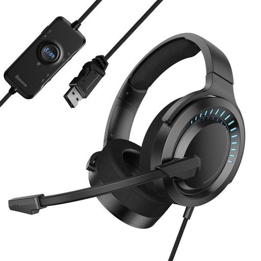 [HRT.55454] Baseus GAMO USB slušalke z mikrofonom in daljinskim upravljalnikom