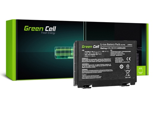 [GCL.AS01] Baterija Green Cell za Asus A32-F82 K40 K50 K60 K70 / 11,1V 4400mAh