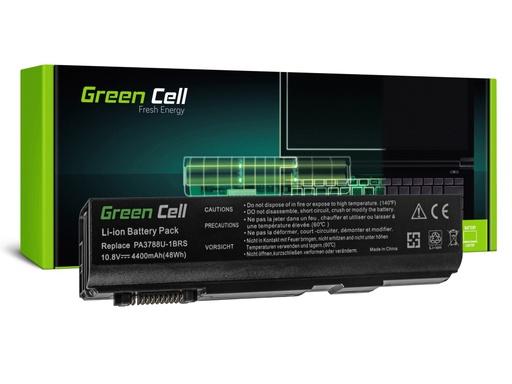 [GCL.TS12] Baterija Green Cell za Toshiba DinaBook Satellite L35 L40 L45 K40 B550 Tecra M11 A11 S11 S500 / 11,1V 4400mAh