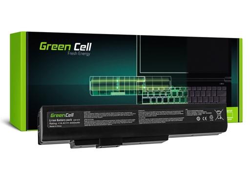 [GCL.MS04] Green Cell baterija za MSI A6400 CR640 CX640 MS-16Y1 / 14,4V 4400mAh