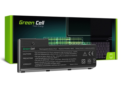 [GCL.TS15] Baterija Green Cell za Toshiba P100 P105 Satego P100 PA3479U-1BRS / 11,1V 4400mAh