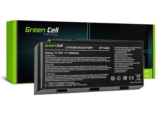 [GCL.MS10] Green Cell baterija za MSI GT60 GT70 GT660 GT680 GT683 GT780 GT783 GX660 GX680 GX780 / 11,1V 6600mAh