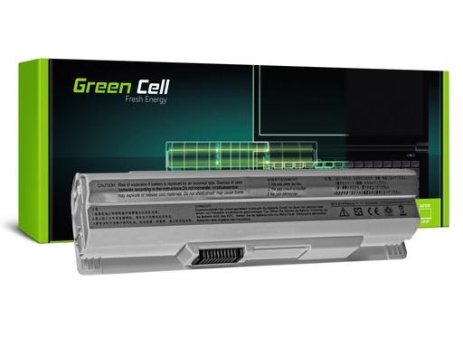[GCL.MS11] Green Cell baterija za MSI Wind U91 L2100 L2300 U210 U120 U115 U270 (bela) / 11,1V 4400mAh