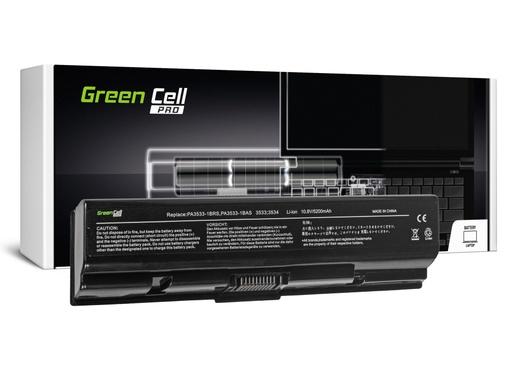 [GCL.TS01PRO] Green Cell PRO baterija za Toshiba Satellite A200 A300 A500 L200 L300 L500 / 11,1V 5200mAh