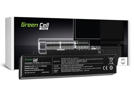 [GCL.SA01PRO] Green Cell PRO baterija za Samsung R519 R522 R530 R540 R580 R620 R719 R780 (črna) / 11,1V 5200mAh