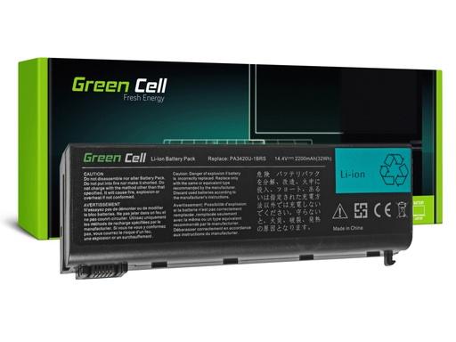 [GCL.TS36] Baterija Green Cell za Toshiba Satellite L10 L15 L20 L25 L30 L35 L100 / 14,4V 2200mAh
