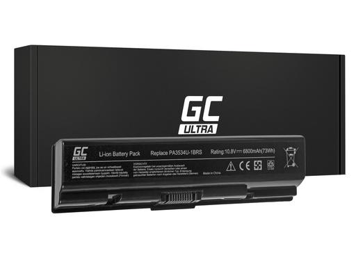 [GCL.TS01ULTRA] ZELENA CELIČNA ULTRA baterija za Toshiba Satellite A200 A300 A500 L200 L300 L500 / 11,1V 6800mAh