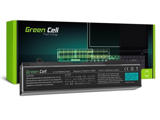 [GCL.TS48] Baterija Green Cell za Toshiba Satellite A85 A110 A135 M40 M50 M70 / 14,4V 2200mAh