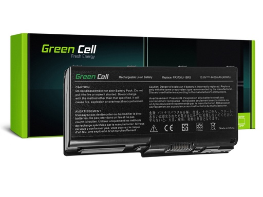 [GCL.TS44] Green Cell PRO baterija za Toshiba Qosmio X500 X505 Satellite P500 P505 P505D / 11,1V 4400mAh