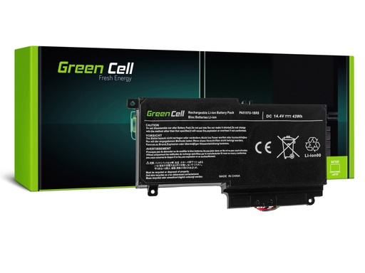 [GCL.TS51] Baterija Green Cell za Toshiba Satellite L50-A L50-A-19N L50-A-1EK L50-A-1F8 L50D-A P50-A S50-A / 14,4V 2838mAh