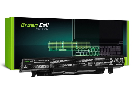 [GCL.AS84] Green Cell baterija za prenosnik Asus GL552 GL552J GL552V ZX50 ZX50J ZX50V