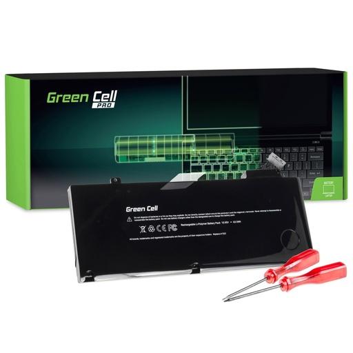 [GCL.AP06PRO] Baterija Green Cell PRO za Apple Macbook Pro 13 A1278 (sredina 2009, sredina 2010, začetek 2011, konec 2011, sredina 2012) / 10,95V 5800mAh