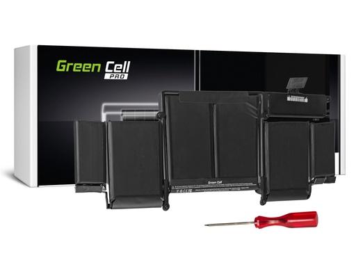 Baterija Green Cell PRO za Apple Macbook Pro 13 A1502 (konec 2013, sredina 2014) / 11,34V 6350mAh