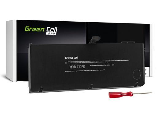 [GCL.AP10PRO] Baterija Green Cell PRO Baterija za Apple Macbook Pro 15 A1286 2009-2010 / 10,95V 6700mAh