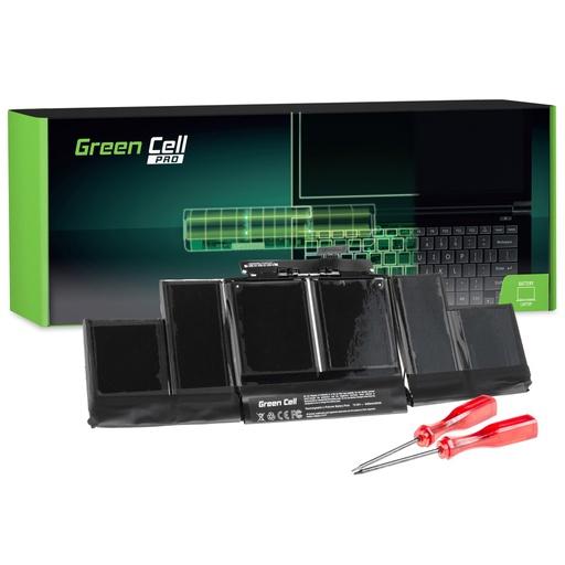 [GCL.AP15PRO] Baterija Green Cell PRO za Apple Macbook Pro 15 A1398 (sredina 2012, začetek 2013) / 10,95V 8700mAh