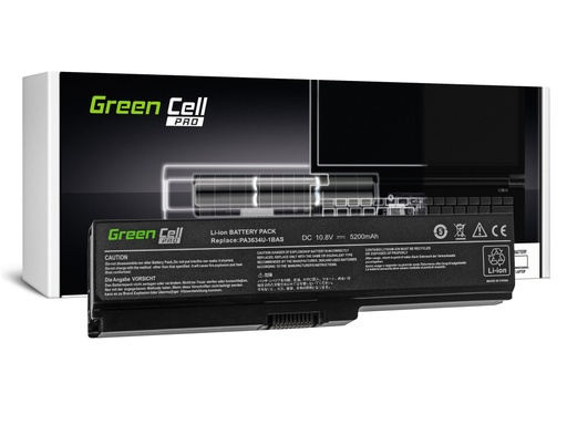[GCL.TS03PROV2] Green Cell PRO baterija za Toshiba Satellite A660 A665 L650 L650D L655 L670 L670D PA3634U-1BRS / 11,1V 5200mAh
