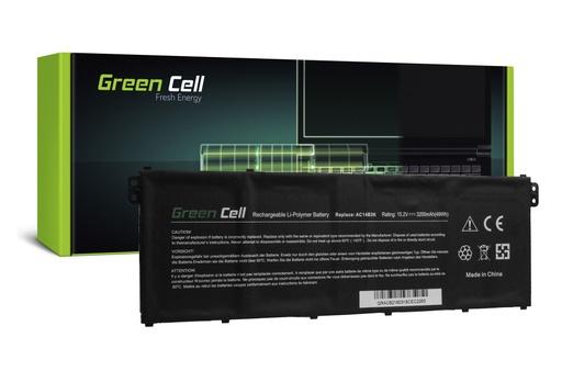 [GCL.AC62] Baterija Green Cell za Acer Aspire 5 A515 A517 E15 ES1-512 ES1-533 / 15,2V 3000mAh