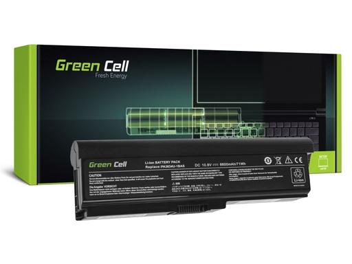[GCL.TS21V2] Baterija Green Cell za Toshiba Satellite C650 C650D C660 C660D L650D L655 L750 PA3634U-1BRS / 11,1V 6600mAh