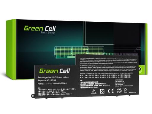 [GCL.AC70] Baterija Green Cell AC13C34 za Acer Aspire E3-111 E3-112 E3-112M ES1-111 ES1-111M V5-122P V5-132P