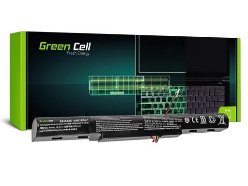 [GCL.AC51] Baterija Green Cell za Acer Aspire E 15 E15 E5-575 E 17 E17 E5-774 / 14,4V 2200mAh