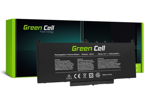 [GCL.DE135] Baterija Green Cell J60J5 za Dell Latitude E7270 E7470 5800mAh