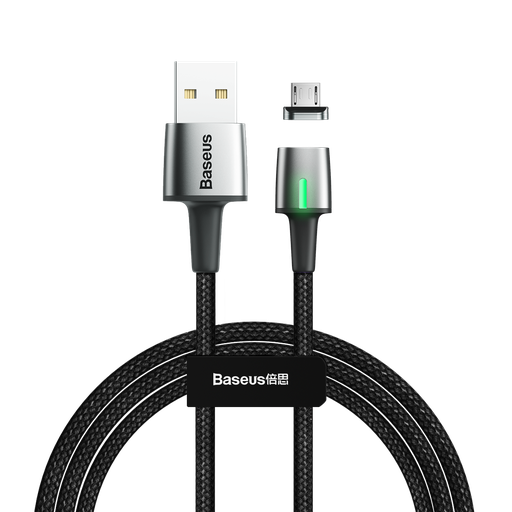 [HRT.51712] Baseus Zinc mikro USB podatkovni kabel magnetni kabel 2.4A 1m