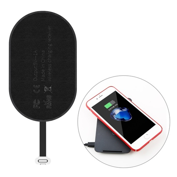 [HRT.43073] Baseus Microfiber brezžični polnilnik QI s lightning kablom
