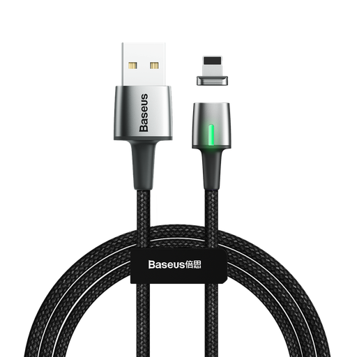 [HRT.51708] Baseus Zink lightning podatkovni kabel magnetni kabel 2.4A 1m