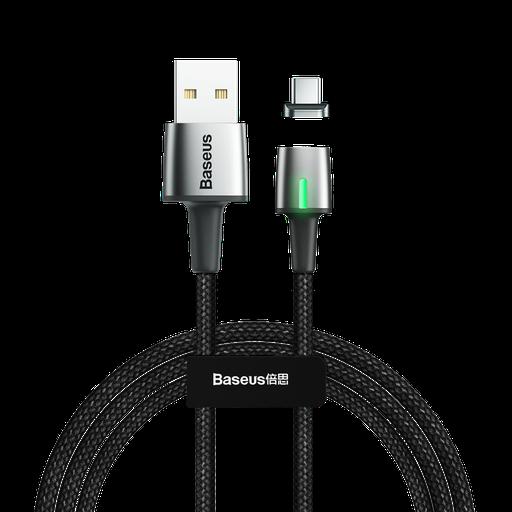 [HRT.51711] Baseus Cink USB Type C podatkovni kabel magnetni kabel 2A 2m