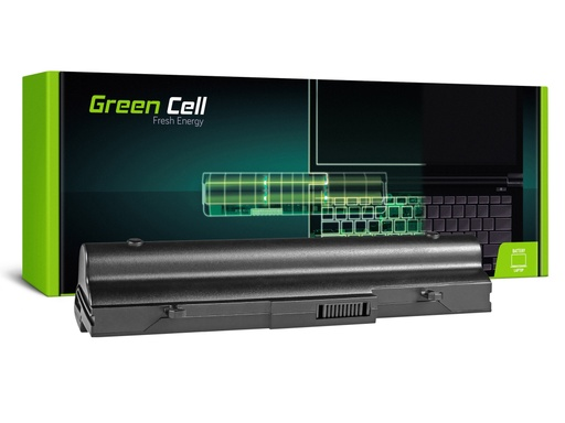 [GCL.AS18] Baterija Green Cell za Asus Eee-PC 1001 1001P 1005 1005P 1005H (black) / 11,1V 6600mAh