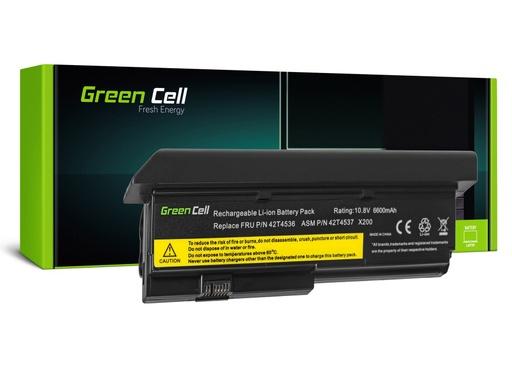 [GCL.LE22] Baterija Green Cell za Lenovo ThinkPad X200 X201 X200s X201i / 11,1V 6600mAh