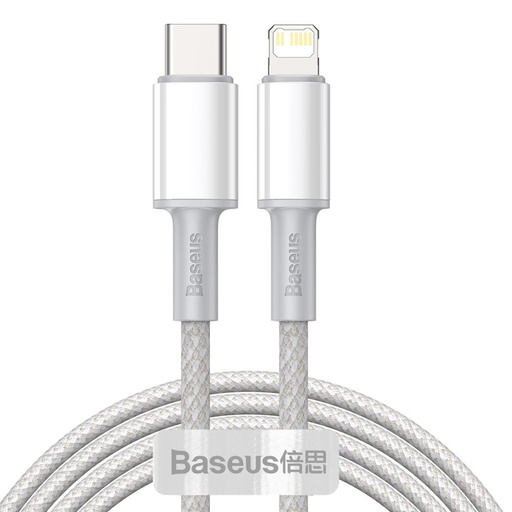[HRT.64310] Baseus USB Type C > Lightning Podatkovni kabel PD Hitro polnjenje 20W 2m
