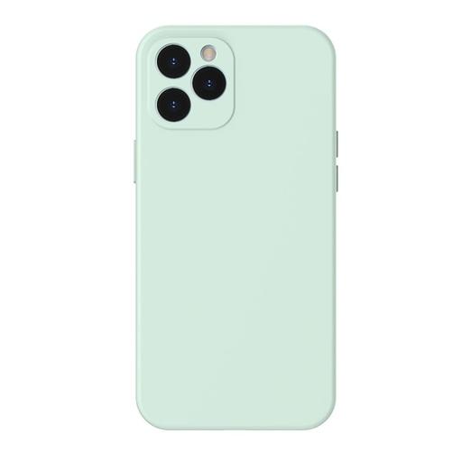 [HRT.64087] Baseus Liquid Silica Gel ovitek za iPhone 12 Pro mint