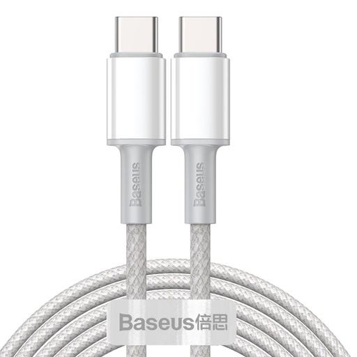 [HRT.64390] Baseus Type C > Type C podatkovni kabel PD QC 100W 5A 2m