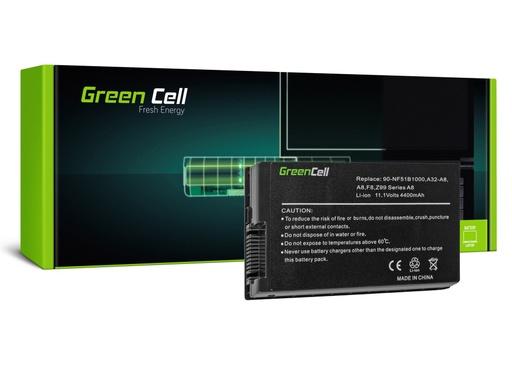 [GCL.AS46] Green Cell baterija za Asus A8 A8E A8H A8J F8 N81 X80 Z99 / 11,1V 4400mAh
